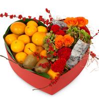 과일꽃 하트박스