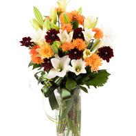 백합화기꽃