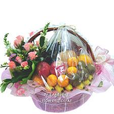 출산,꽃과 과일의 만남