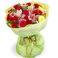 꽃다발 라운드k1